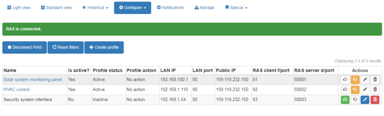 Secure access without opening firewall ports or port forwarding